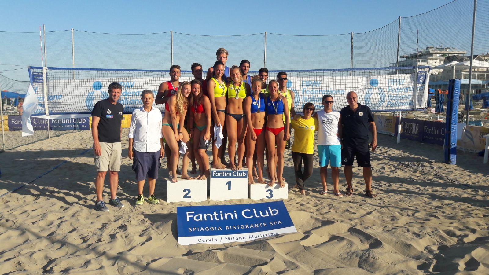 Conclusi i campionati u di beach volley al fantini club