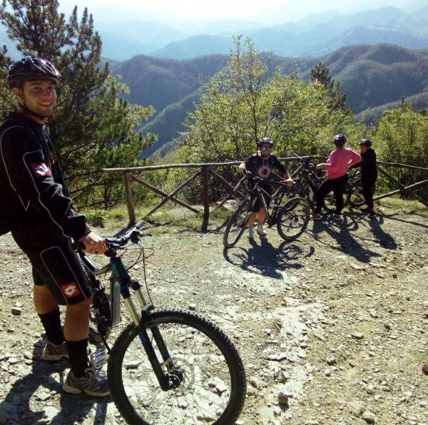 MTB Tour in Bagno di Romagna (Italien)