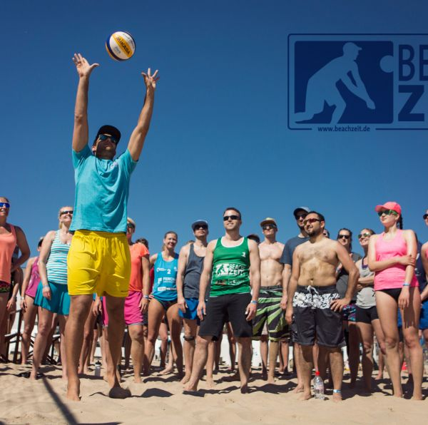 BEACHVOLLEYBALLCAMP IN ITALIEN!