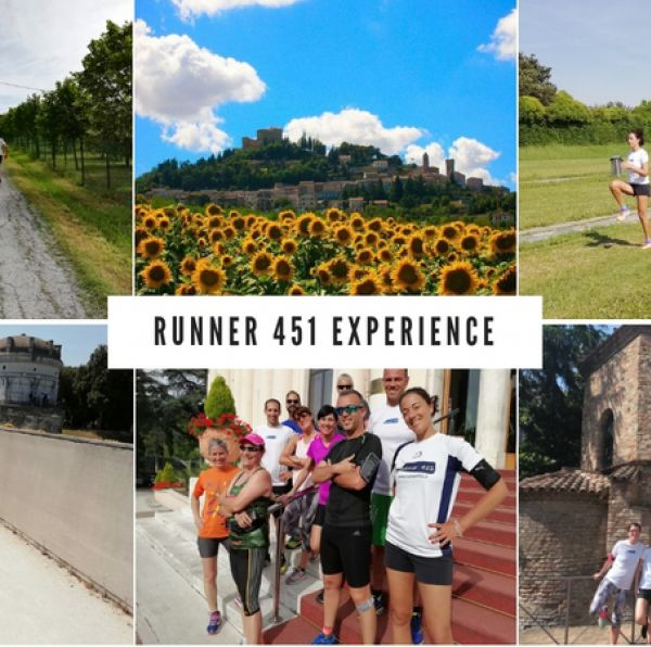 Runner 451 experience a Cervia